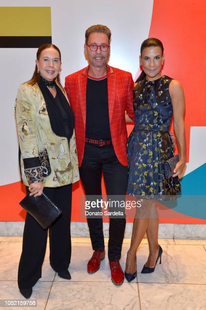Andrea Fiuczynski and guests attend the Hammer Museum 16th Annual Gala in the Garden with generous support from South Coast Plaza at the Hammer...