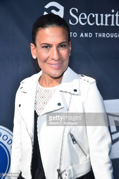 Andrea Fiuczynski attends the Fourth Annual Los Angeles Dodgers Foundation Blue Diamond Gala at Dodger Stadium on June 11, 2018 in Los Angeles,...