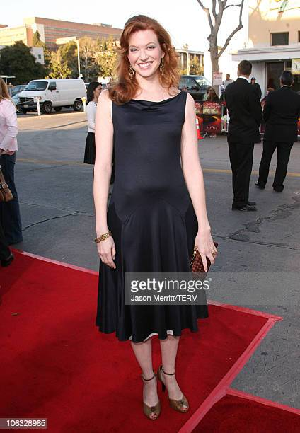 Andrea Frankle during The Reaping Los Angeles Premiere Arrivals at Mann Village Theater in Westwood California United States