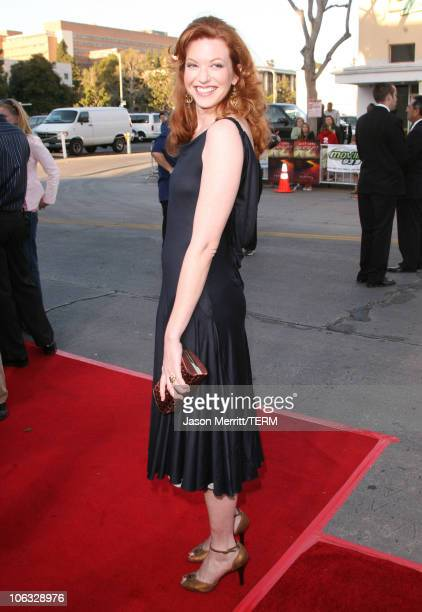 Andrea Frankle during 'The Reaping' Los Angeles Premiere Arrivals at Mann Village Theater in Westwood California United States