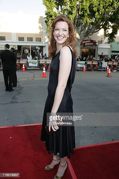 Andrea Frankle during Warner Bros Pictures Presents the Los Angeles Premiere of The Reaping at Mann Village Theater in Westwood California United...