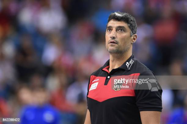 Andrea Giani of Germany during the Final of the European Men's Volleyball Championships 2017 match between Germany and Russia on September 3 2017 in...