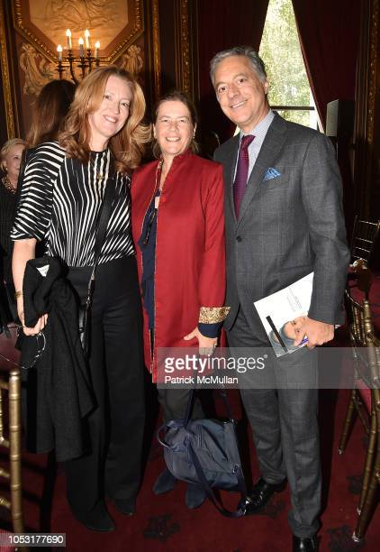 Andrea Greeven Douzet Ariadne CalvoPlatero and Alexander FarmanFarmaian attend Teaching Matters 10th Annual Champions Of Education Luncheon at...