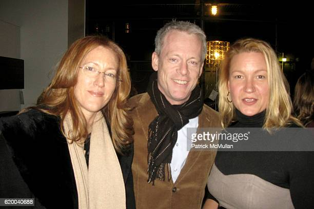 Andrea Greeven Douzet Michael Rawson and Courtney Maier attend BoConcept and KolDesign Asian Holiday Party at BoConcept on December 16 2008 in New...