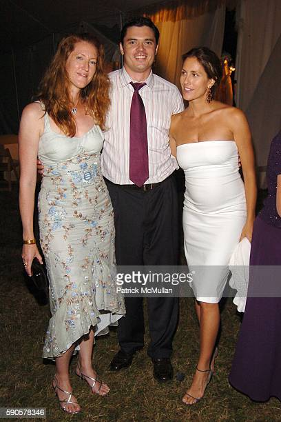 Andrea Greeven Douzet Rob Fox and Cristina Greeven Cuomo attend SAFARI SUMMER Benefit for the Departmant of Emergency Medicine at Southampton...