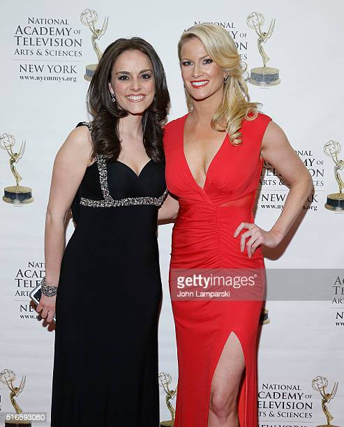 Andrea Grymes and Alice Gainer attends 59th Annual New York Emmy Awards at Marriott Marquis Times Square on March 19 2016 in New York City