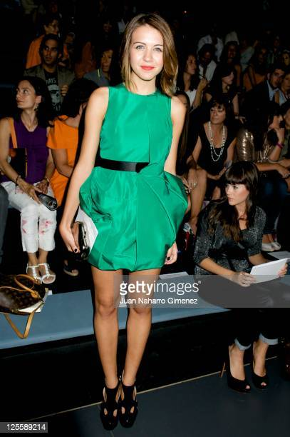 Andrea Guasch attends Amaya Arzuaga show during Cibeles Fashion Week S/S 2012 at Ifema on September 18 2011 in Madrid Spain