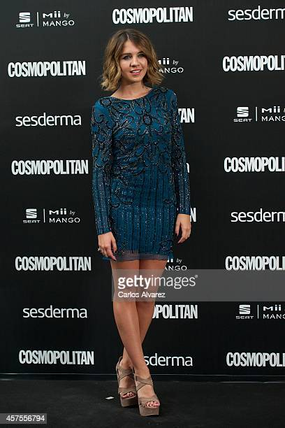 Andrea Guasch attends the Cosmopolitan Fun Fearless Awards 2014 at the Ritz Hotel on October 20 2014 in Madrid Spain