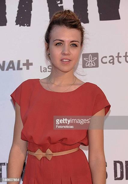 Andrea Guasch attends the premiere of 'Tengo Ganas de Ti' at Callao Cinema on June 20 2012 in Madrid Spain