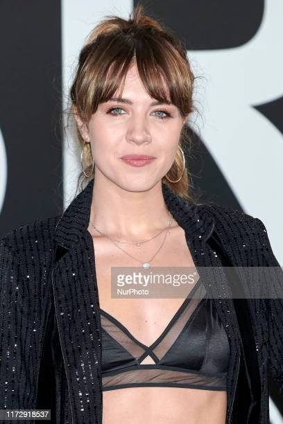 Andrea Guasch attends the Yves Saint Laurent 'Libre' fragrance presentation at Real Fabrica de Tapicez in Madrid Spain on Sep 30 2019