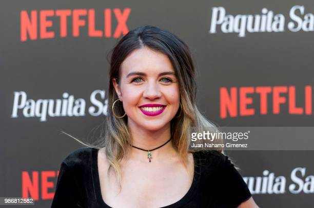 Andrea Guasch attends World Premiere of Netflix's Paquita Salas Season 2 on June 28 2018 in Madrid Spain