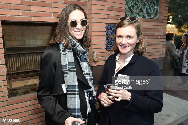 Andrea Guttag and Julie Senden attend A Conversation with the Center for Reproductive Rights at Private Residence on February 25 2018 in Los Angeles...