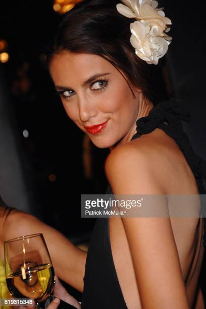 Andrea Guttag attends The Supper Club Los Angeles Launches its Black Card The Opening of Trousdale's Private Room at Hollywood on April 5 2010