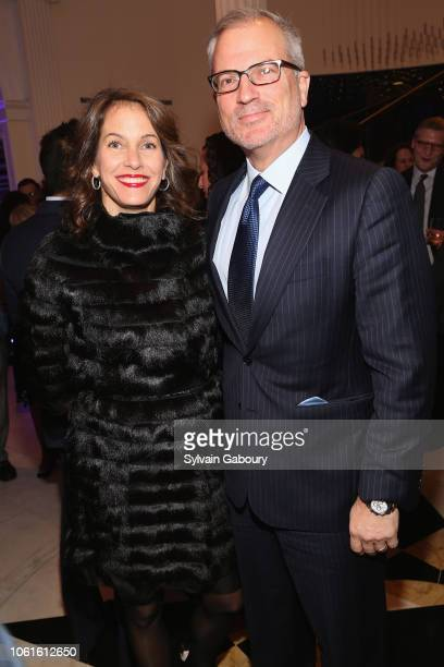Andrea Hagan and Paul Parker attend Museum Of The City Of New York Louis Auchincloss Prize Gala at Museum of the City of New York on November 14 2018...