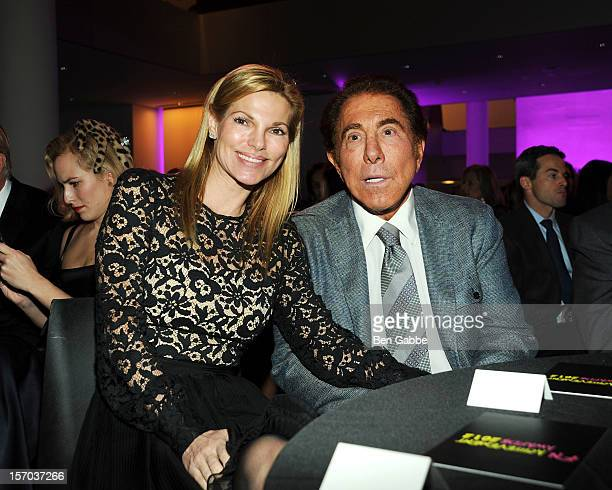 Andrea Hissom and Steve Wynn attend 2012 Footwear News Achievement Awards at MOMA on November 27 2012 in New York City