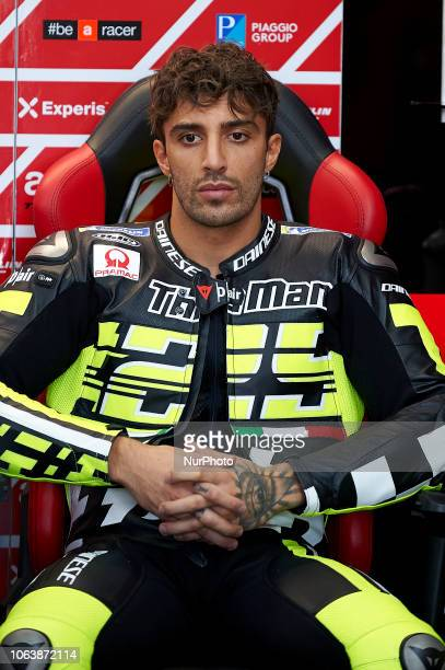 Andrea Iannone of Italy and Aprilia Racing Team Gresini during the tests of the new MotoGP season 2019 at Ricardo Tormo Circuit in Valencia Spain on...
