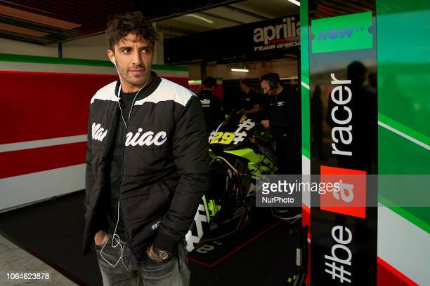 Andrea Iannone of Italy and Aprilia Racing Team Gresini during the test of the new MotoGP season 2019 at Ricardo Tormo Circuit in Valencia Spain on...
