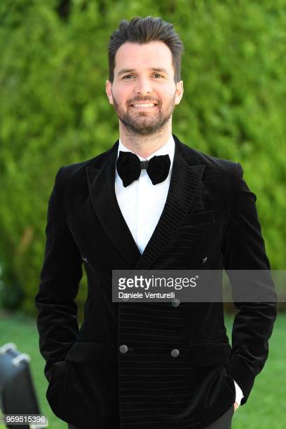Andrea Iervolino arrives at the amfAR Gala Cannes 2018 at Hotel du CapEdenRoc on May 17 2018 in Cap d'Antibes France