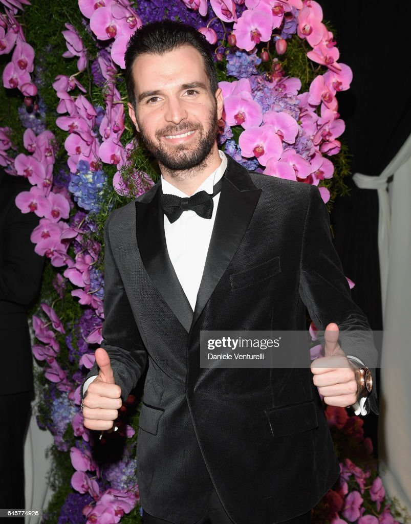 Andrea Iervolino attends Bulgari at the 25th Annual Elton John AIDS Foundation's Academy Awards Viewing Party at on February 26, 2017 in Los Angeles, California.