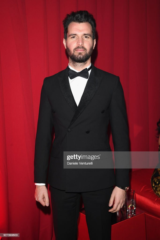 Andrea Iervolino attends Elton John AIDS Foundation 26th Annual Academy Awards Viewing Party at The City of West Hollywood Park on March 4, 2018 in Los Angeles, California.
