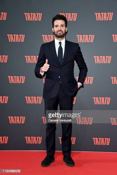 Andrea Iervolino attends 'TATATU' Cocktail Party on March 06 2019 in Rome Italy