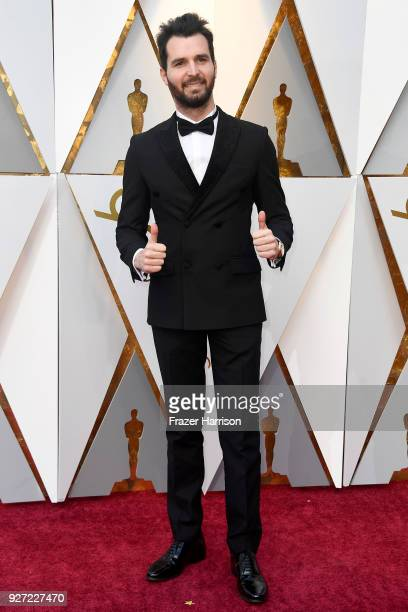 Andrea Iervolino attends the 90th Annual Academy Awards at Hollywood Highland Center on March 4 2018 in Hollywood California