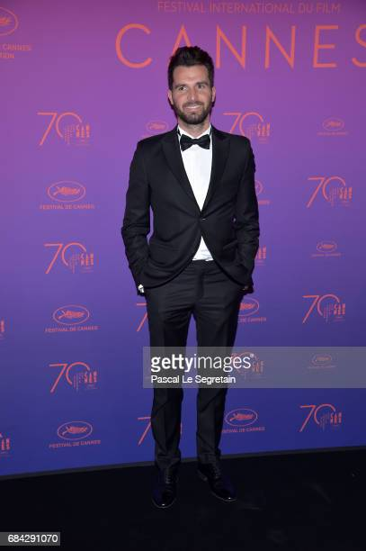 Andrea Iervolino attends the Opening Gala dinner during the 70th annual Cannes Film Festival at Palais des Festivals on May 17 2017 in Cannes France