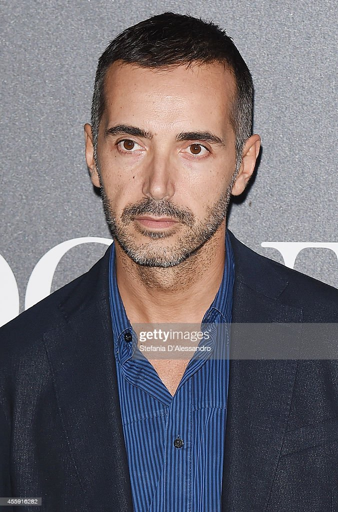 Andrea Incontri attends Vogue Italia 50th Anniversary Event on September 21, 2014 in Milan, Italy.