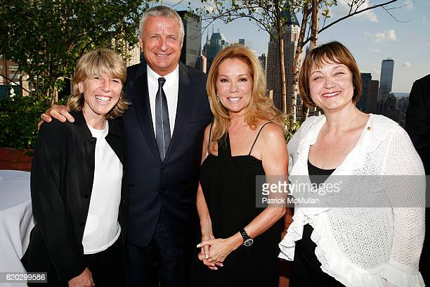 Andrea Jaeger Christian CourtinClarins Kathie Lee Gifford and Debbe Magnusen attend CLARINS hosts Most Dynamic Woman Award at Private Roofdeck on...