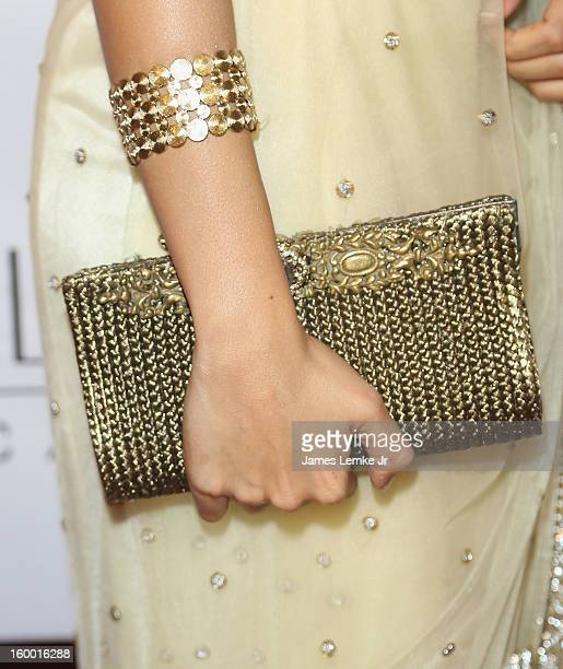 Andrea Jeremiah attends the 'Vishwaroopam' premiere held at the Pacific Theaters at the Grove on January 24 2013 in Los Angeles California