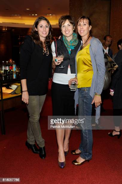 Andrea Johnson, Jeanne Lurvey and Alexandra Olin attend THE WALL STREET JOURNAL Presents Fashion's Night Out at PAUL STUART on September 10th, 2010...
