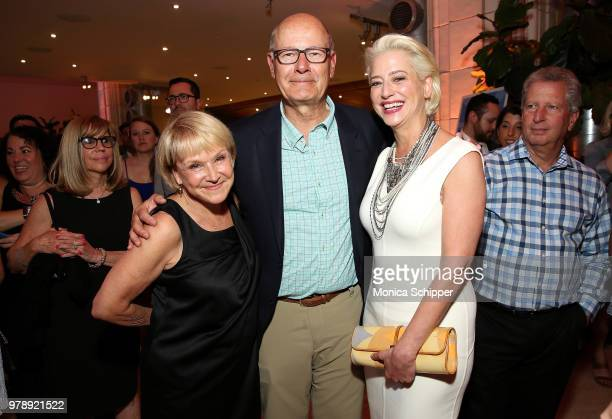 Andrea Joyce Harry Smith and Dorinda Medley attend the Ronald McDonald House New York Heroes Volunteer Event on June 19 2018 in New York City