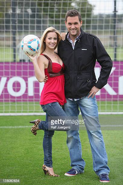 Andrea Kaiser and Matthias Killing attend 'ran' photocall on August 30 2011 in Dortmund Germany