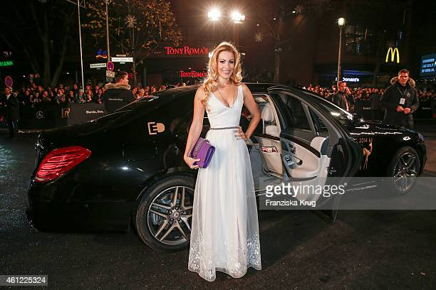 Andrea Kaiser arrives at the Bambi Awards 2014 on November 13 2014 in Berlin Germany