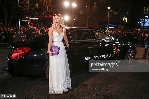 Andrea Kaiser arrives at the Bambi Awards 2014 on November 13 2014 in Berlin Germany
