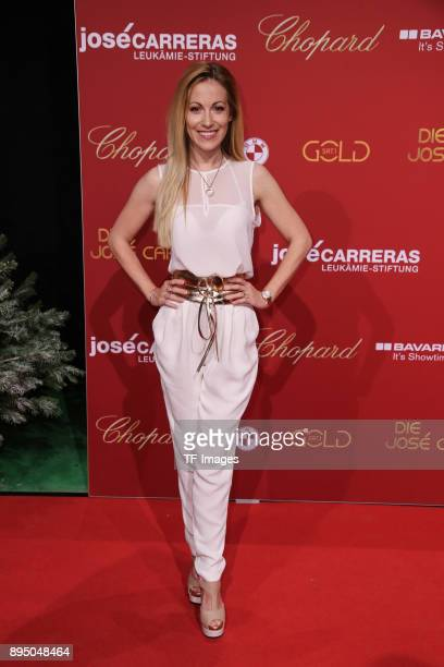 Andrea Kaiser attends the 23th Annual Jose Carreras Gala on December 14 2017 in Munich Germany