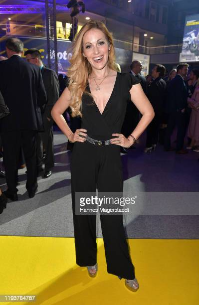 Andrea Kaiser attends the annual ADAC Sportgala at ADAC Headquarters on December 13, 2019 in Munich, Germany.