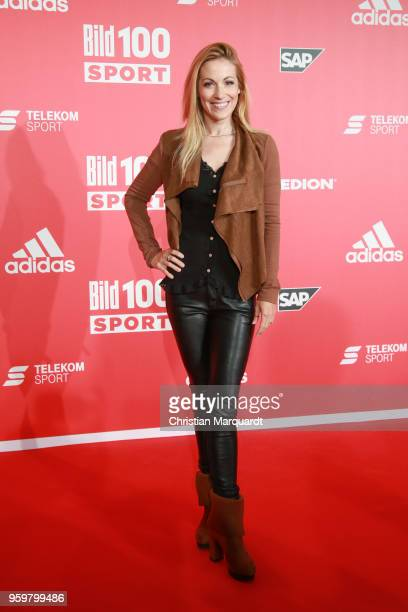 Andrea Kaiser attends the BILD100 SPORT Get Together at Bild Sport Arena on May 18 2018 in Berlin Germany