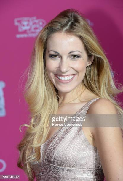 Andrea Kaiser attends the Closer Charity Event SMILE at Hotel Vier Jahreszeiten on December 2 2013 in Munich Germany