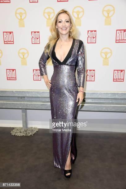 Andrea Kaiser attends the 'Das Goldene Lenkrad' Award at Axel Springer Haus on November 7 2017 in Berlin Germany