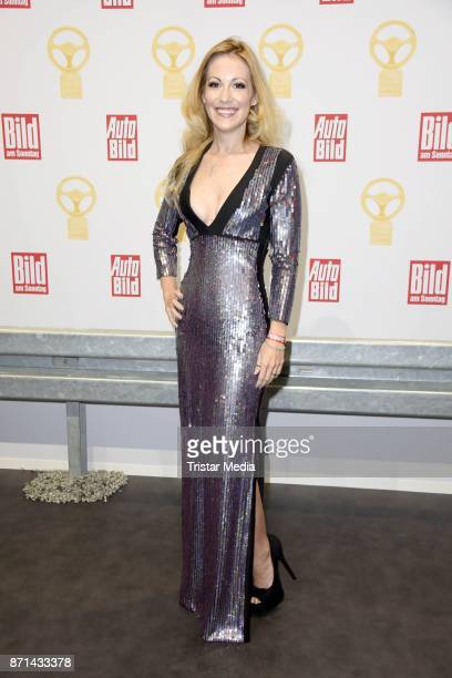 Andrea Kaiser attends the 'Das Goldene Lenkrad' Award at Axel Springer Haus on November 7 2017 in Berlin Germany