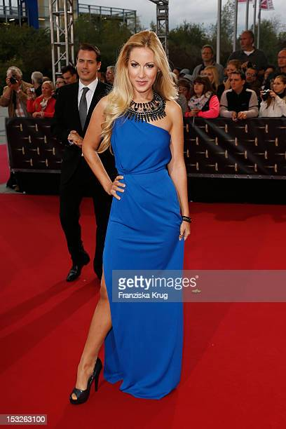 Andrea Kaiser attends the German TV Awards 2012 at Coloneum on October 2 2012 in Cologne Germany