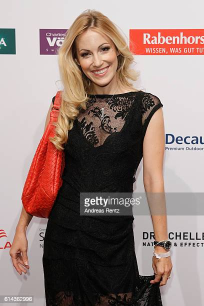 Andrea Kaiser attends the 'Goldene Bild der Frau' award at Stage Theater on October 13 2016 in Hamburg Germany