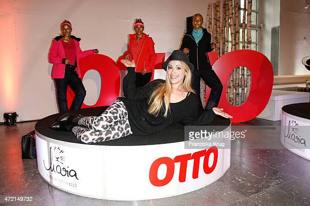 Andrea Kaiser attends the OTTO Exclusive Sport Cooperation celebrations on May 04 2015 in Munich Germany