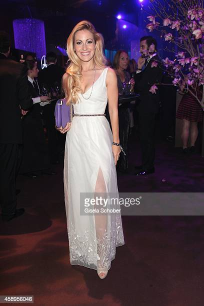 Andrea Kaiser during the Bambi Awards 2013 after show party on November 13 2014 in Berlin Germany