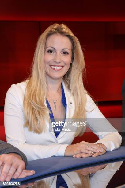 Andrea Kaiser during the TV Show Photo Call 'Hart Aber Fair' on October 9, 2017 in Berlin, Germany.