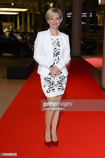 Andrea Kathrin Loewig attend at Mercedes Reveals New SKlasse Coupe on September 18 2014 in Berlin Germany