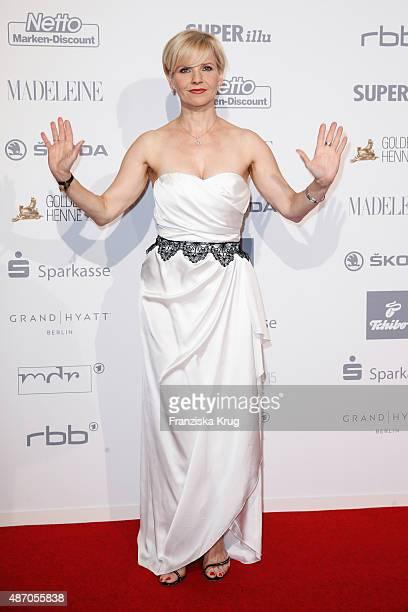 Andrea Kathrin Loewig attends Madeleine At Goldene Henne 2015 on September 05 2015 in Berlin Germany