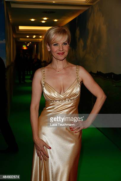 Andrea Kathrin Loewig attends the 8th GRK Golf Charity Masters Leipzig gala at The Westin Leipzig on August 22 2015 in Leipzig Germany