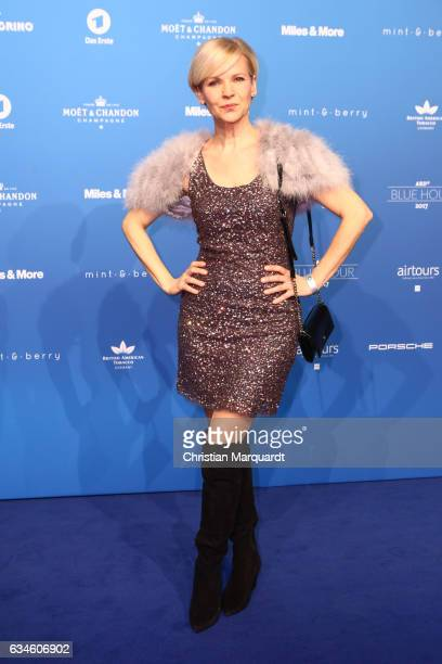 Andrea Kathrin Loewig attends the Blue Hour Reception hosted by ARD during the 67th Berlinale International Film Festival Berlin on February 10 2017...